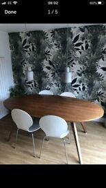 Habitat Veneer extra large dining table RRP £995