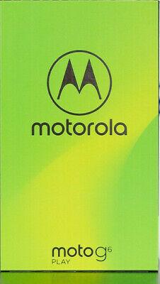 NEW MOTOROLA MOTO G6 PLAY XT1922-3 32GB UNLOCKED 4G LTE DUAL SIM SMARTPHONE