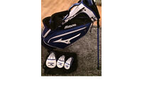 Mizuno pro stand bag (staff) mint condition 2017 model