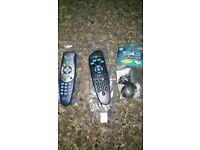 Sky Remote & Room link virgin remote