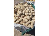 FREE BBQ / FIREWOOD BRIQUETTES AND WOOD OFF CUTS - BLABY, LEICESTER
