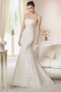 Pre-owned wedding dress - White One - Tamara
