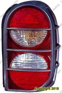 Tail Light Driver Side Enegade Models With Tail Light Guard High Quality Jeep Liberty 2005-2006