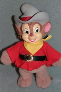 American-Tail-Fievel-Goes-West-9-Plush-Toy-Doll-1991