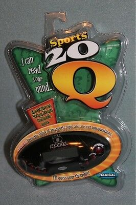 Sports 20 Q Radica Electronic Trivia Toy Game