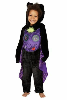 Boy George Halloween Kostüme (Boy Girl Halloween Bat Holographic Fancy Dress Costume Baby Age 1 - 4 Years)