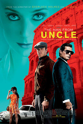 The Man From U N C L E  11 5X17 Promo Movie Poster Uncle