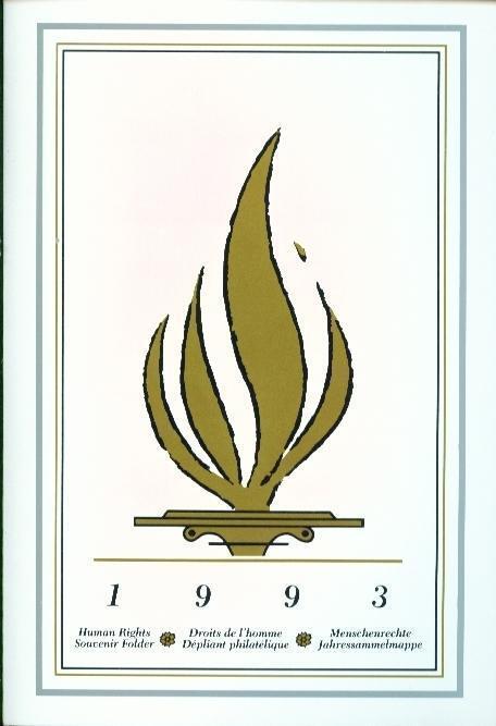 1993 ONU/UN Human Rights/Diritti Umani Folder NY/Geneve/Wien/Ginevra/Vienna