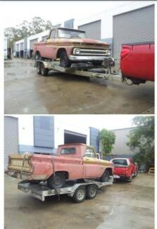 1966 Chev C10 SWB Project Springfield Ipswich City Preview