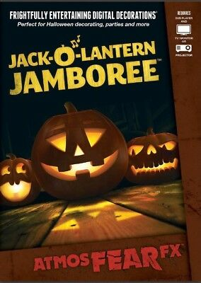 AtmosFX Jack-O'-Lantern Jamboree Digital Decorations](Halloween Digital Decorations)