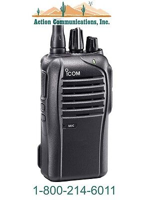 New Icom Ic-f3210d-01 Vhf 136-174 Mhz 5 Watt16 Channel Two Way Radio