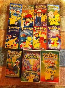 Lot de 11 VHS Pokémon - ¨Premiers épisodes et plus!