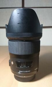 Sigma 35mm F/1.4 DG HSM A (Art)  For Nikon [SOLD]