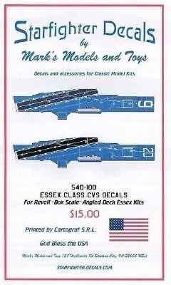 Uss Essex Class - Starfighter Decals 540100 x 1/530 USS Hornet CVS12 Essex Class for Revell