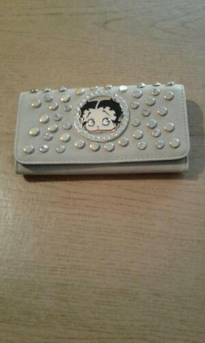 Betty Boop Rhinestone Wallet tri-fold