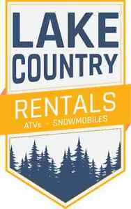 Sleds for Rent!  Snowmobiles for Rent!