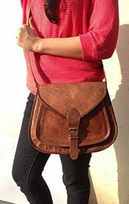 Smart Women Messenger Purse Strong Leather Tote Handbag Satc