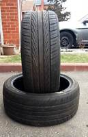 ✰✰ (2) AEOTELI PERFORMANCE ALL SEAS TIRES 225/40/18 >> $80 FOR 2