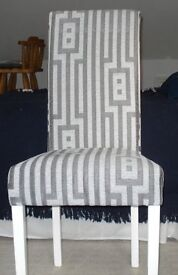 """""""As New"""" 2 Upholstered Chairs"""