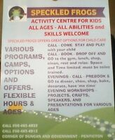 Speckled Frogs Activity Centre