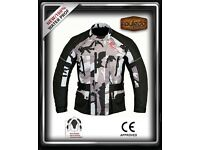 D-700A Motorbike-Textile Cordura Jacket CE Approved