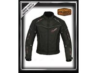 Moto-Rayle-Motorbike Textile Jacket CE Approved Armors