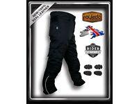 Moto Biker GP Motorbike Textile Cordura Trouser CE Approved Armors