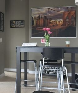 Bar height table with 2 FREE chairs!