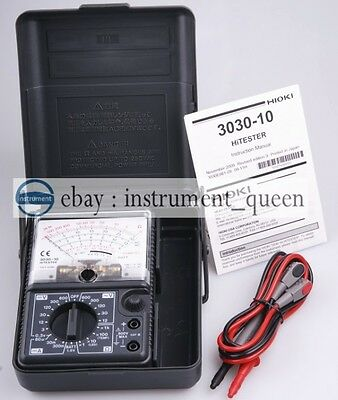 Made In Japan Hioki 3030-10 Analog Multimeter Hitester