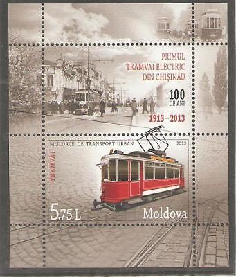 2013   MOLDOVA -  SG  MS 833 - CITY TRANSPORT - UMM