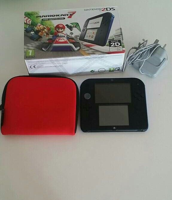 Nintendo 2dsin York, North YorkshireGumtree - Nintendo 2ds console pre installed with mario kart 7 and official red nintendo red case all leads and boxed. Excellent condition