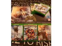Xbox One S 1TB Battlefield Military Green Bundle Six Games
