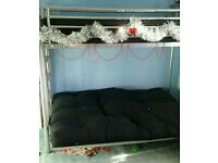Single bunk bed with double/sofa bed