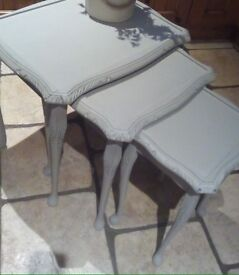 Upcycled Nest of Tables - can deliver