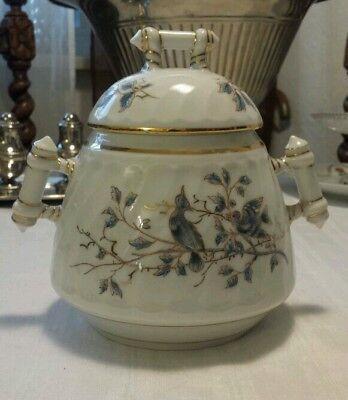 Jugendstil  Bonboniere Deckeldose Porzellan um 1900