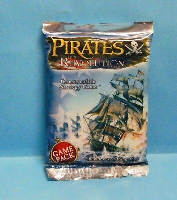 WIZKIDS PIRATES : PIRATES OF THE REVOLUTION 1x Booster Pack (SINGLE BOOSTER)