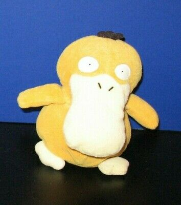 Pokemon 5'' Psyduck Plush 1998 Hasbro Nintendo Soft Toy Figure