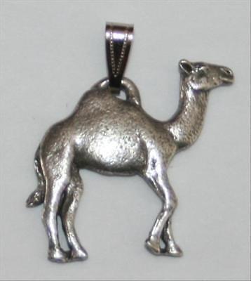 Camel Harris Fine Pewter Pendant USA Made