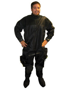 DUI-Seal-DrySuit-Dry-Suit-Scuba-Diving-Dive-Latex-Front-Sock-XL-RockBoot-Bag