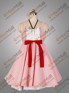 Bakemonogatari-Nisemonogatari-Oshino-Shinobu-Cosplay-Costume-Party-Dress