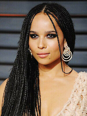 Corn Row Wig (Braided lace wig-Cornrow braided wig- Synthetic Twist Lace wig- weaving-Long)