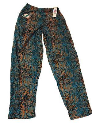 New Miami Dolphins Mens Sizes S-M-L-2XL Pajama Lounger Pants Miami Dolphins Recliner