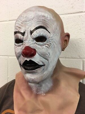 2 Guns Clown Mask Halloween Fancy Dress Costume Two Bank Robber Heist Costume](Bank Robber Halloween)