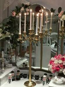 HIRE - Wedding Candle Holders - JUST BRIDES Rossmoyne Canning Area Preview