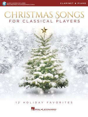 Christmas Songs for Classical Players - Clarinet and Piano Songbook 239290 ()