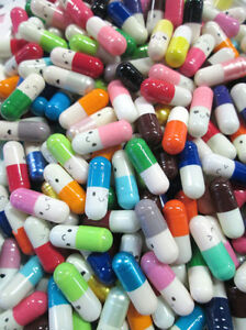 100pc Love Cute Pill Message Letter Note Capsule USA SELLER - FREE SHIPPING!