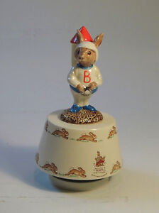 "Royal Doulton Bunnykins 1984 ""Fly Me To The Moon"" West Island Greater Montréal image 1"
