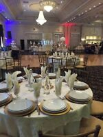Gold Crystal centerpieces only $7ea!