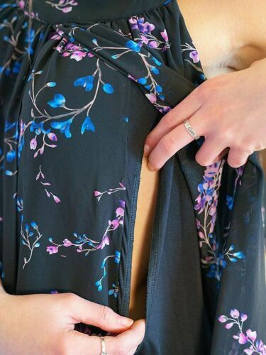 Kelsey Floral Maternity & Nursing Dress - Large (10-12)