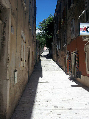 One of the many cobbled streets